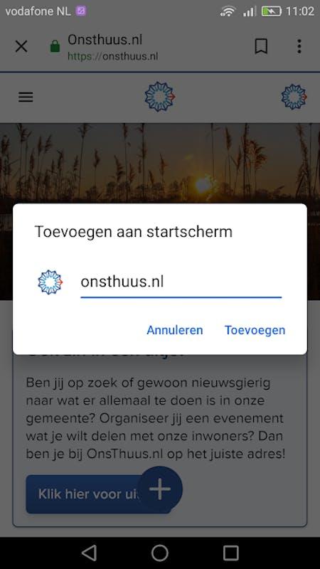 Berichten van Wanda schrijft op OnsThuus.nl
